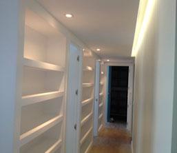 Iluminacion con Leds en Interiores